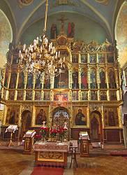 П'ятницька церква у Львові. Іконостас