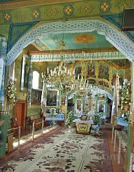 Церква Різдва Богородиці у селі Руда. Інтер'єр