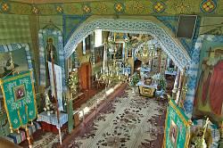Руда. Інтер'єр церкви Різдва Пресвятої Богородиці