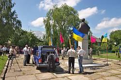Руда. Відкриття пам'ятника Івану Виговському