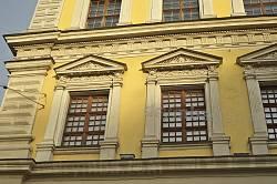 Палац Бандінеллі. Декор вікон