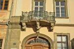 Дворец Любомирских. Балкон