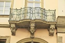 Ковані перила балкону