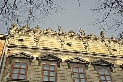 Палац Корнякта. Деталі фасаду