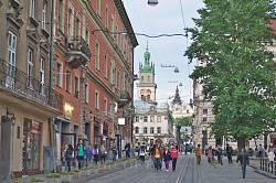 Класичний львівський краєвид