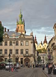 Вид площади Рынок