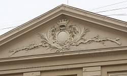 Каменица Коритовского. Рельеф на фасаде