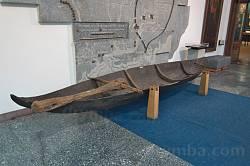 Дніпропетровський історичний музей. Козацький човен