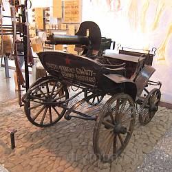Дніпропетровський історичний музей. Тачанка з кулеметом Максіма