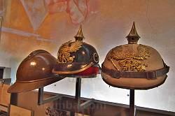 Дніпропетровський історичний музей. Шоломи німецьких вояків часів Першої Світової
