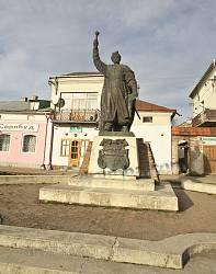 Ходорів. Пам'ятник Богдану Хмельницькому