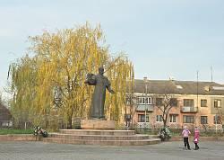 Ходорів. Пам'ятник Тарасу Шевченку