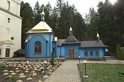 Манявський скит. Благовіщенська церква з підземеллями