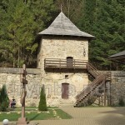 Манявський скит. Північна башта та оборонні мури