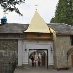 Малая (восточная) надвратная башня Манявского монастыря