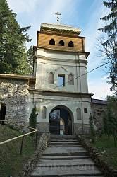 Колокольня монастыря. Вид снаружи