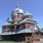 Дерев'яна церква Святого Архистратига  Михаїла в селі Гумниська Буського району.