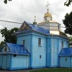 Успенська дерев'яна церква у Рівному