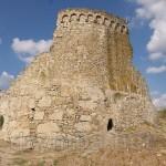 Залишки башти Джованні ді Скаффа у Феодосії