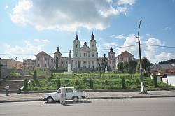 Кременецький колегіум єзуїтів. Вид з головної площі