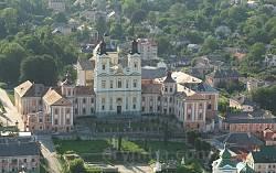 Кременецький ліцей. Вид від замку