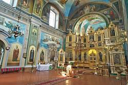 Інтер'єр Свято-Миколаївського собору у Кременці