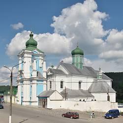 Кременець. Свято-Миколаївський собор з дзвіницею