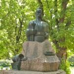 Черкаси. Пам'ятник Івану Підкові у сквері на Замковій горі