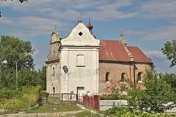 Любомль. Костел Пресвятой Троицы с колокольней