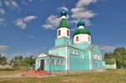 Нова церква у селі Мельники