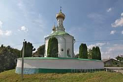 Володимир-Волинський. Василівська церква-ротонда