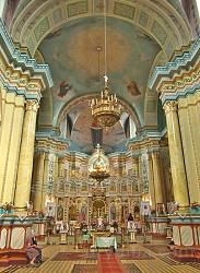 Костел єзуїтів. Інтер'єр