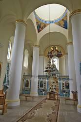 Успенська церква у Крилос. Інтер'єр