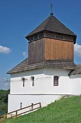 Левая башня-колокольня