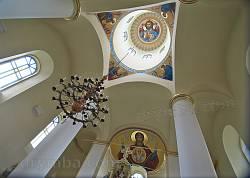 Интерьер Успенской церкви