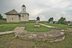 Влтарь Успенского собора. Вид на Васильевскую часовню и Успенскую церковь