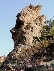 Карадаг. В гор есть лицо