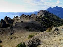 Карадагский заповедник. Вулканические горы