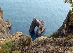 Гірський масив Карадаг (с.м.т. Коктебель, Крим)