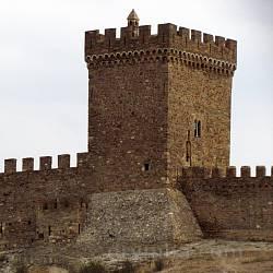 Генуезька фортеця у Судаку
