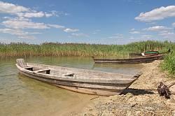 Човни на березі Свитязя