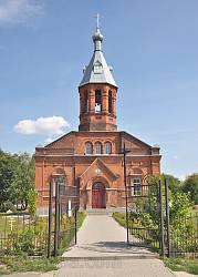 Фасад Георгіївської церкви