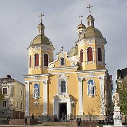 Собор (церковь) Пресвятой Троицы (г.Бережаны)