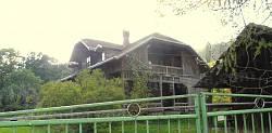 Дачний будинок родини Крушельницьких-Охримовичів в селі Дубина Сколівського району