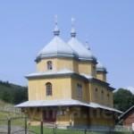 Церква Святого Архистратига Михаїла ( деревяна, 1860р). Село Хітар