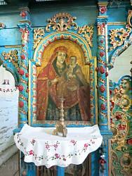 Иконостас. Икона Богородицы