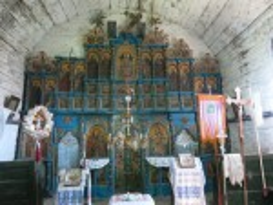 Церква Зіслання Святого Духа у Гукливому. Іконостас