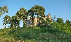 Стрімкі схили монастирського пагорба