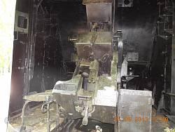 Пушка Б-34. Вид изнутри