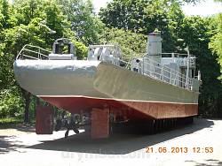 Мемориал обороны Одессы. Минный катер-тральщик